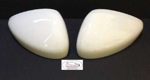 CITROEN C3 / DS3 09 ONWARDS PAIR OF WING MIRROR COVERS IN WHITE CODE KWF
